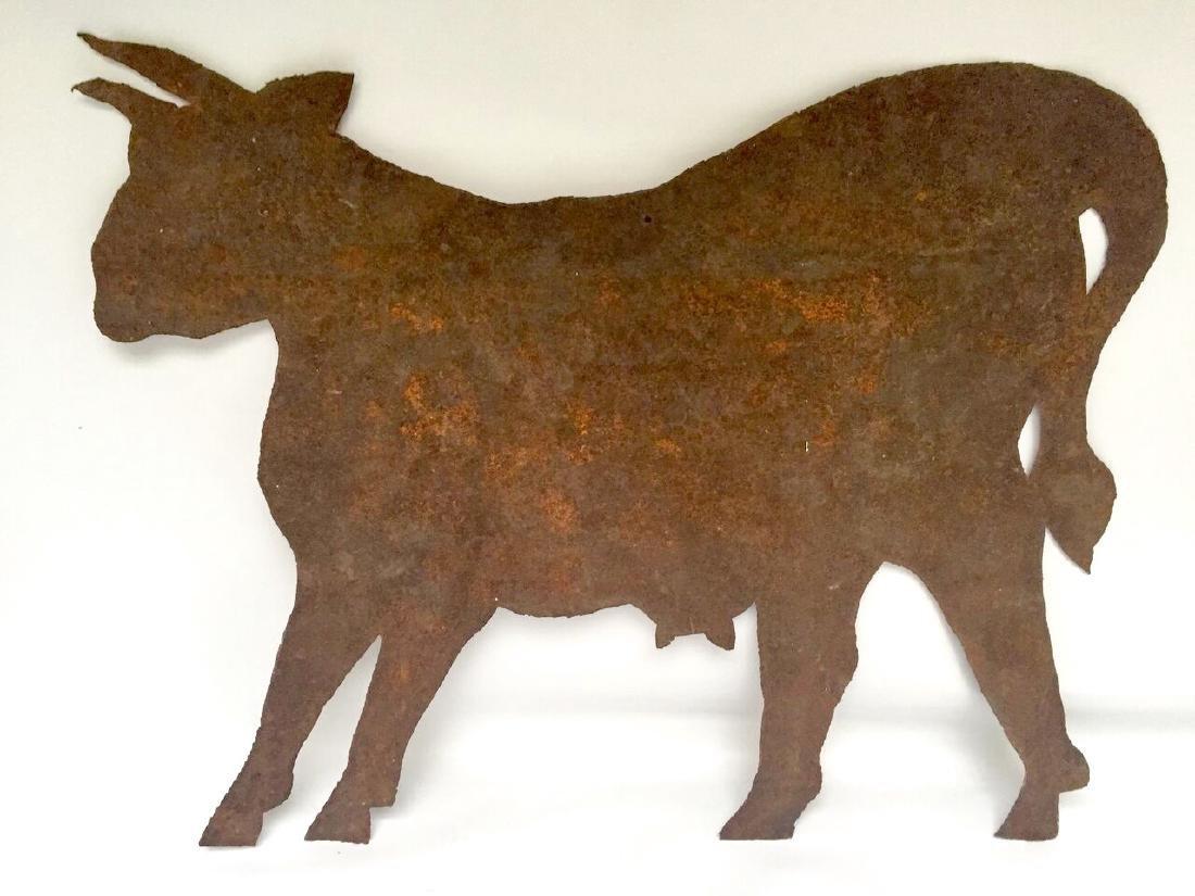 Sheet Metal Cow