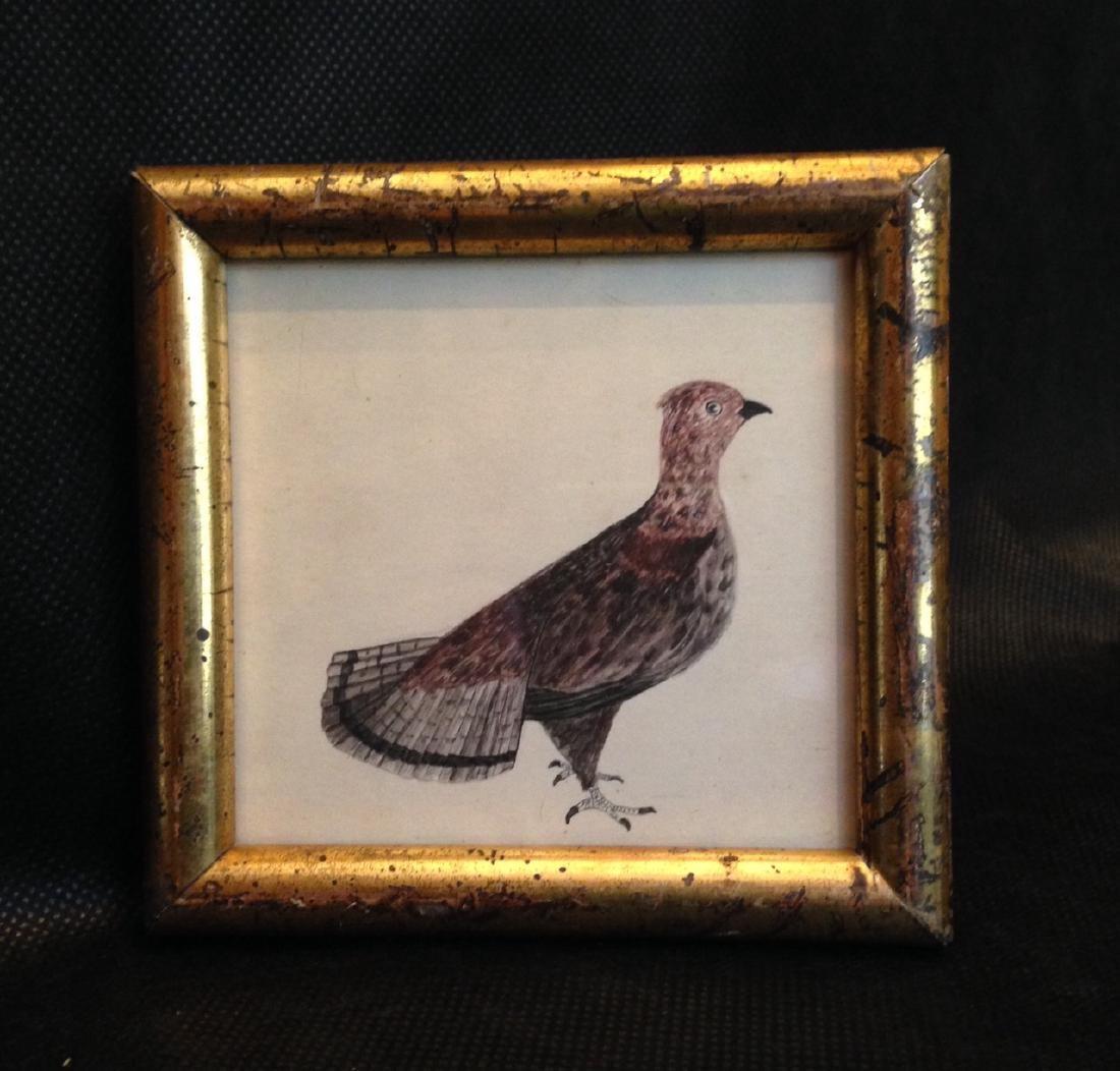 1840 Partridge Watercolor