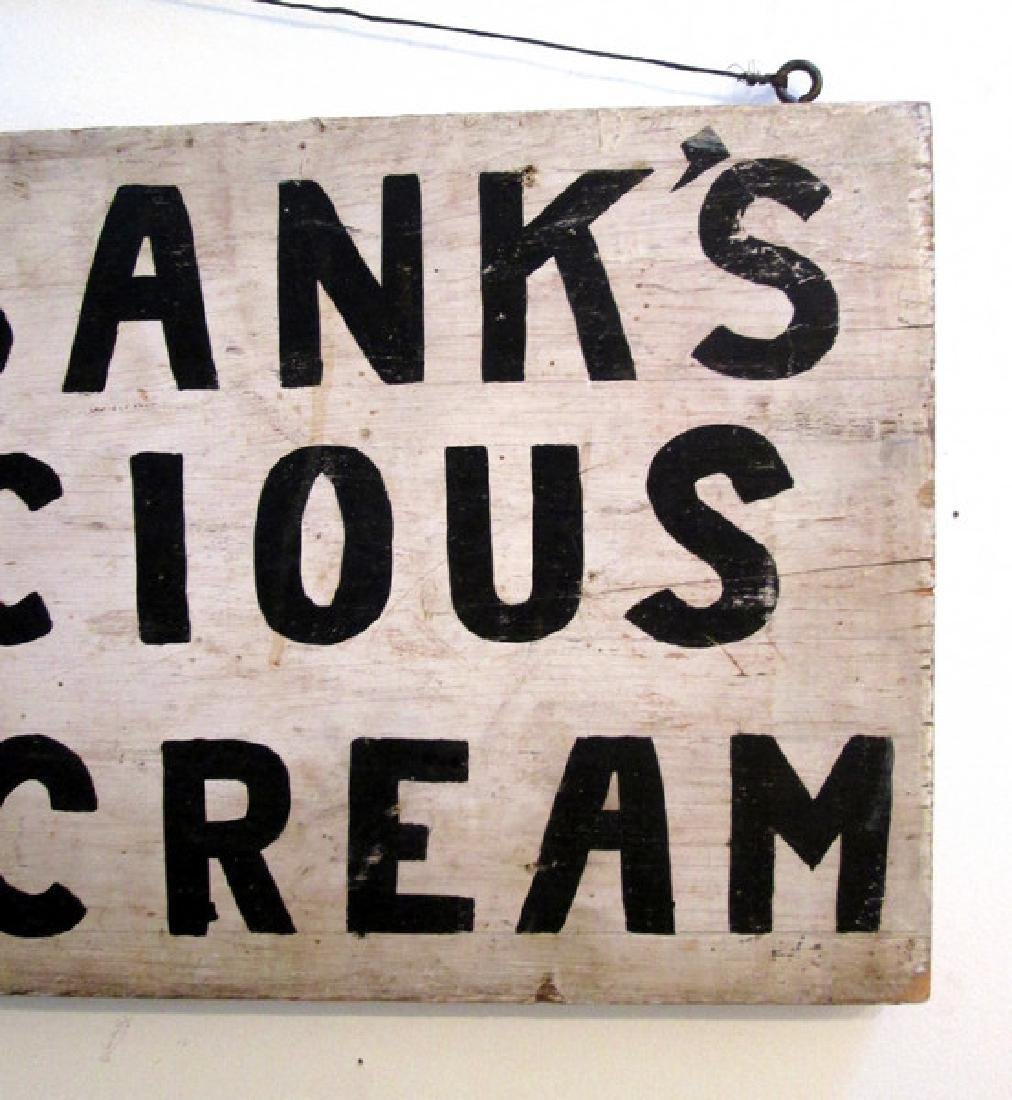 Early Ice Cream Trade Sign - 6