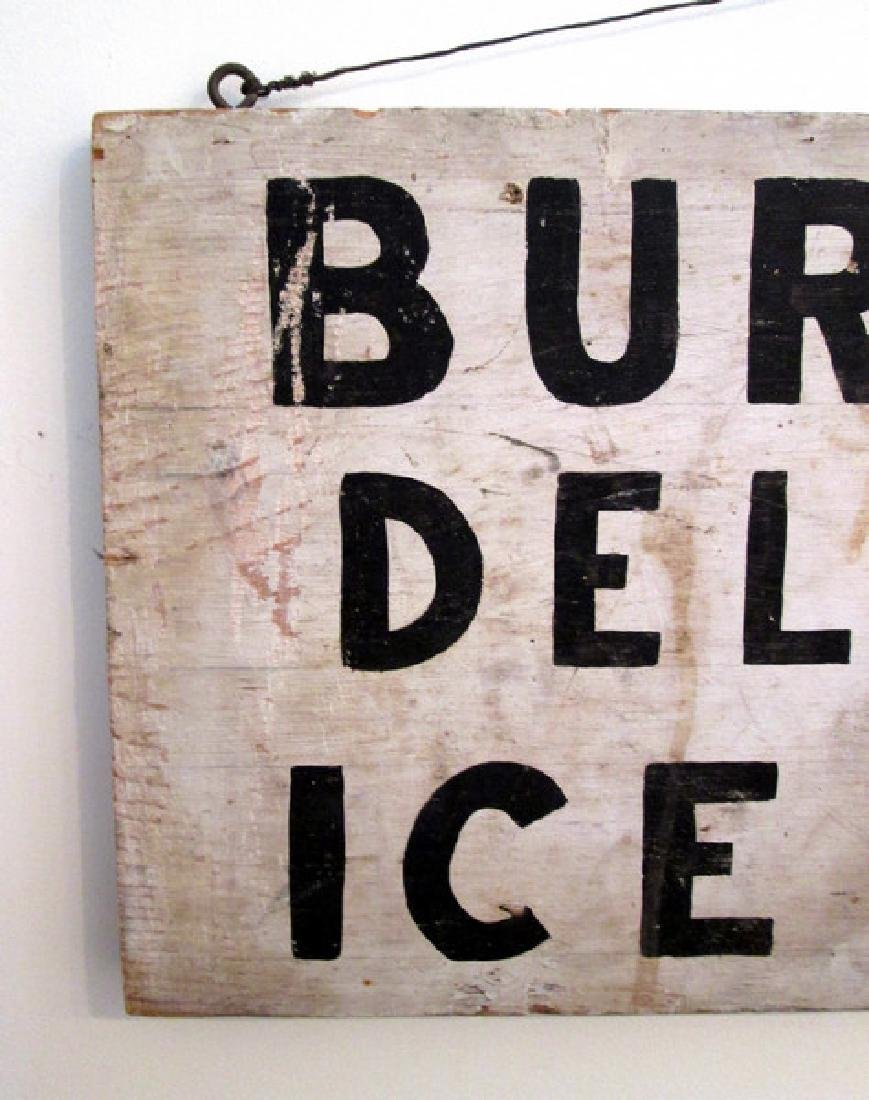 Early Ice Cream Trade Sign - 7