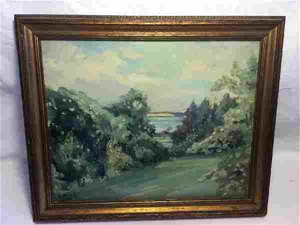 Oil Painting Portland Oregon Landscape Charlotte Mish