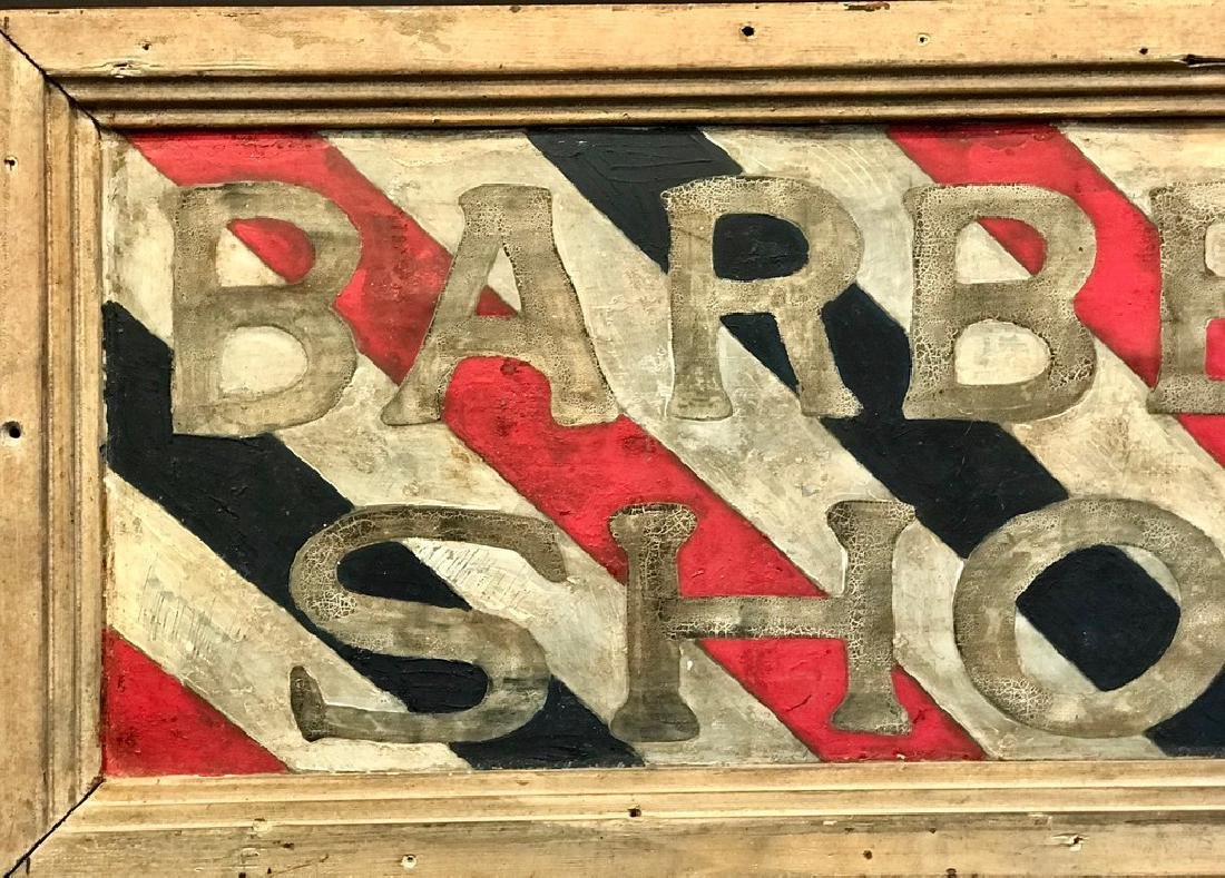 Barber Shop Sign, Late 19th Century - 2