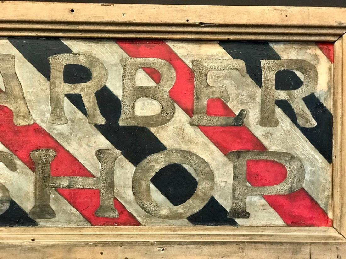 Barber Shop Sign, Late 19th Century - 3