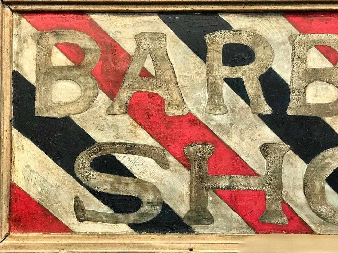 Barber Shop Sign, Late 19th Century - 4