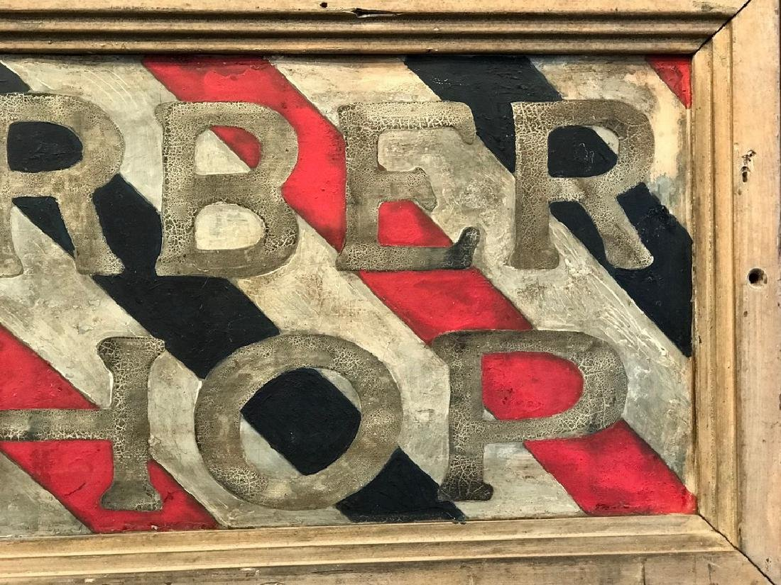 Barber Shop Sign, Late 19th Century - 5