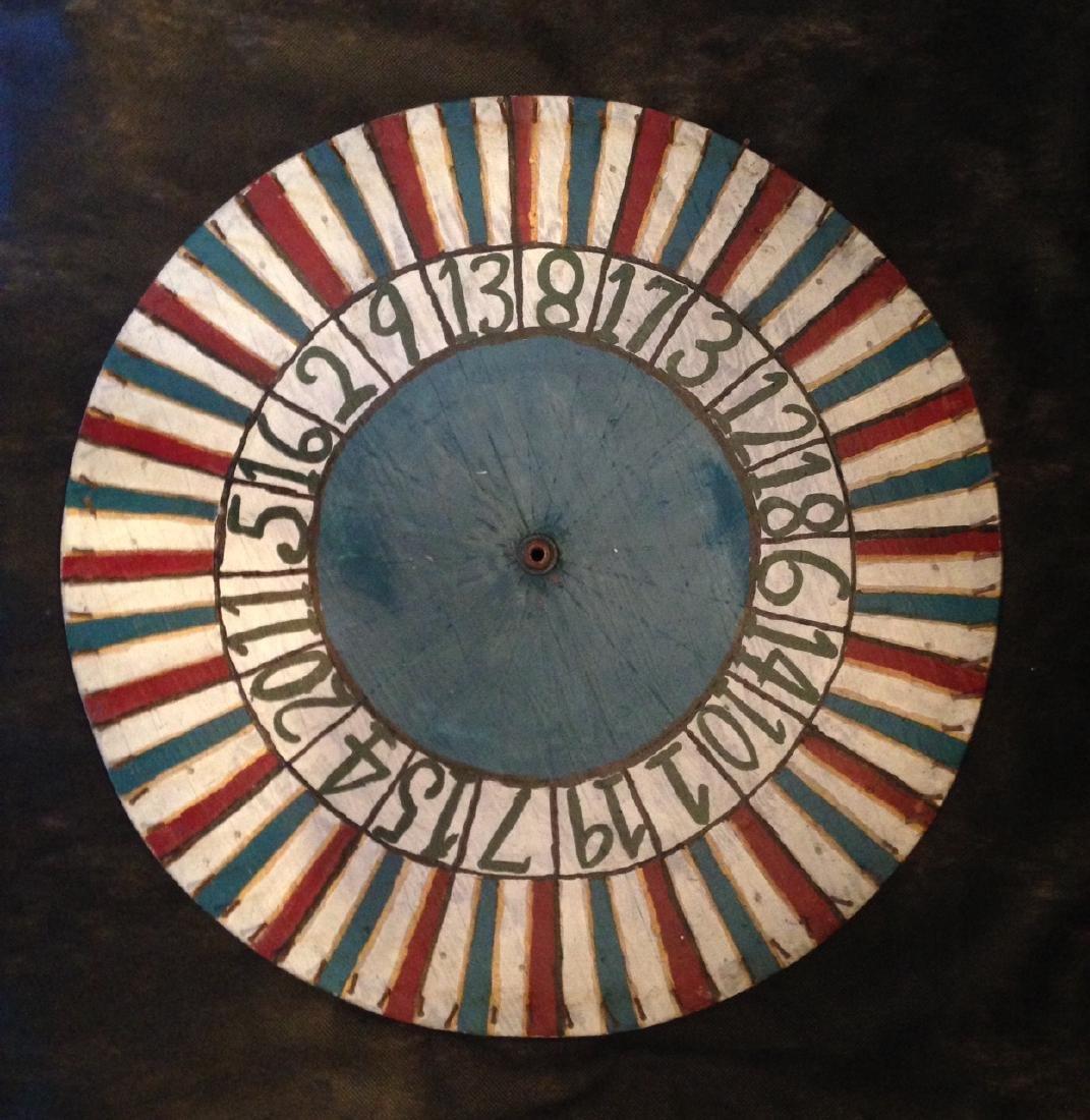 Carnival Game Wheel 1920's