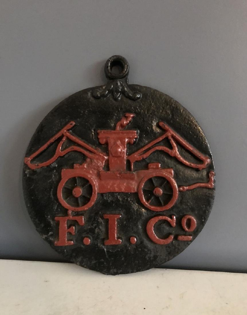 Cast Iron Fire Mark