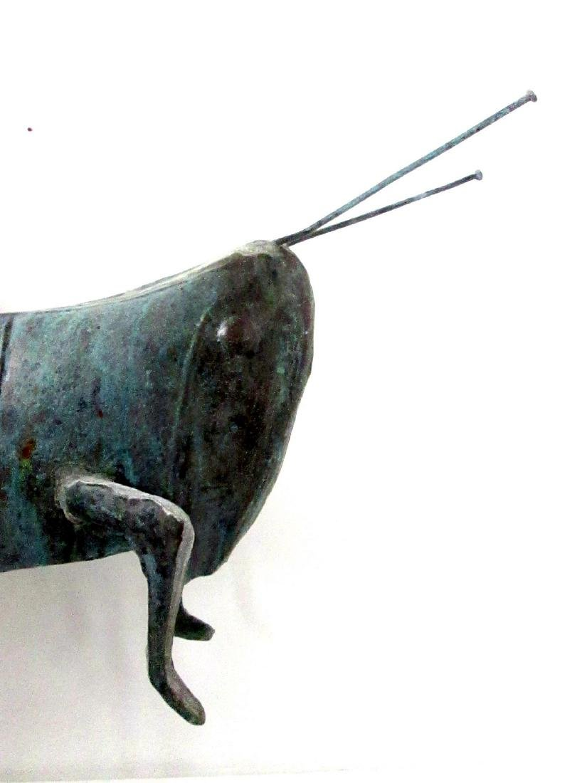 Excellent Early Grasshopper Weathervane - 10
