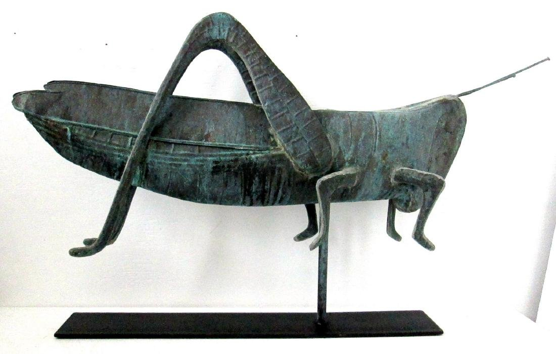 Excellent Early Grasshopper Weathervane