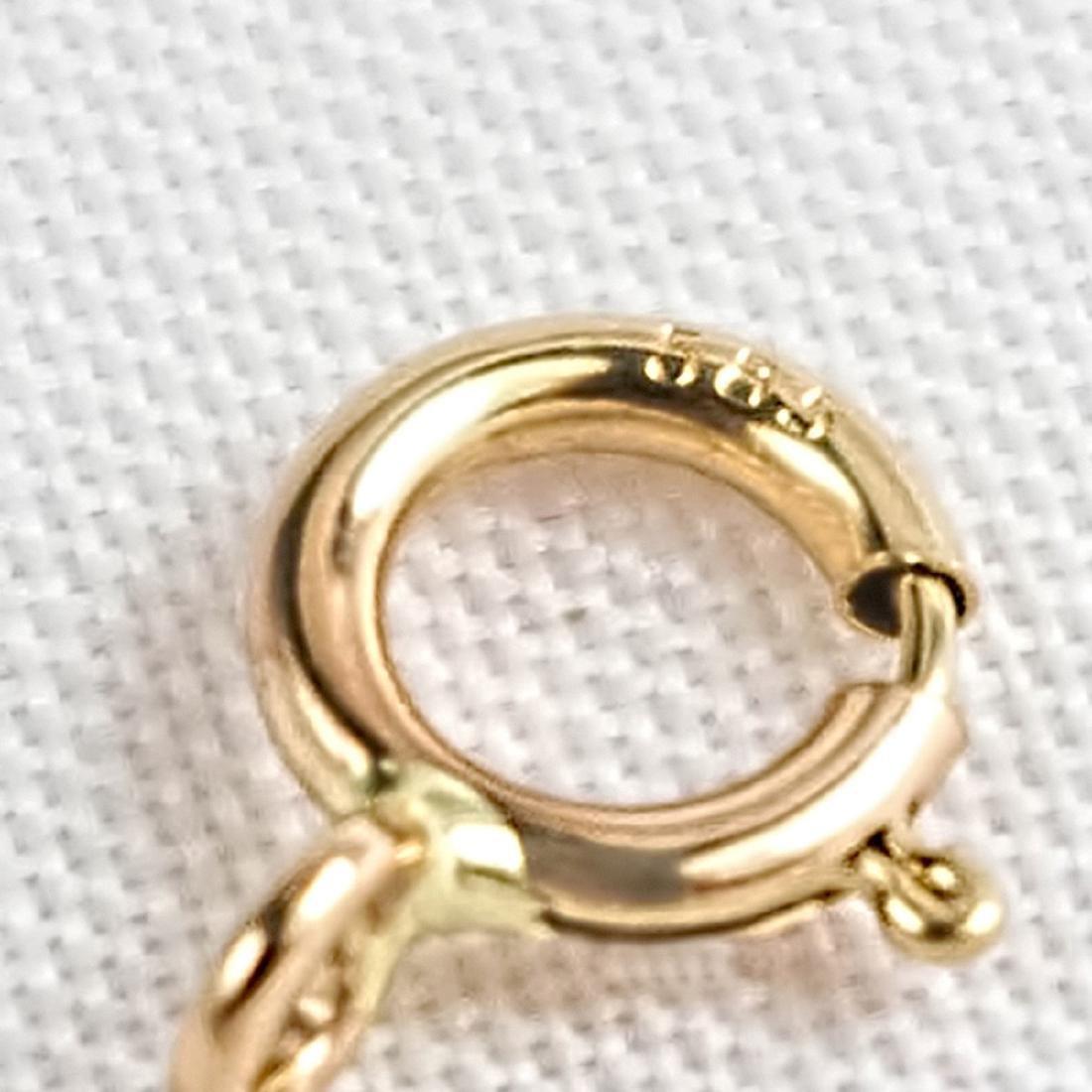 Vintage Style 14K Gold Lapis Lazuli Sapphire Bracelet - 6