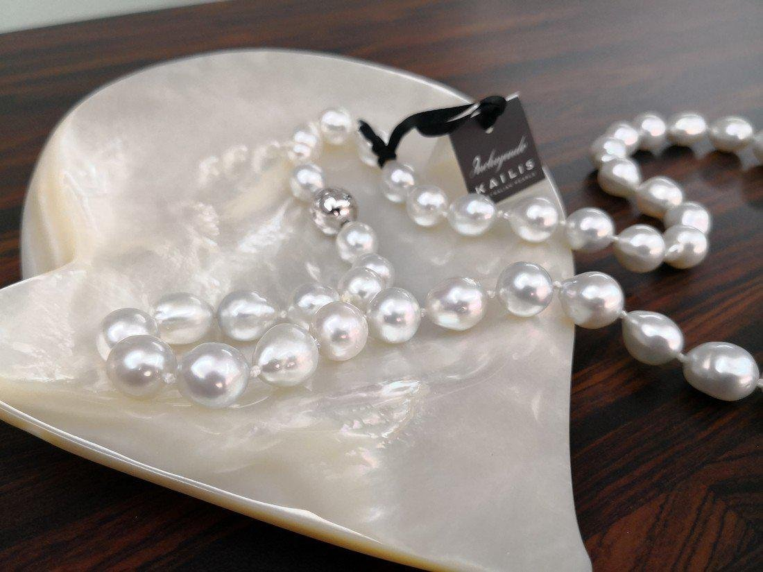 Australian South Sea Pearl Necklace 45 pearls