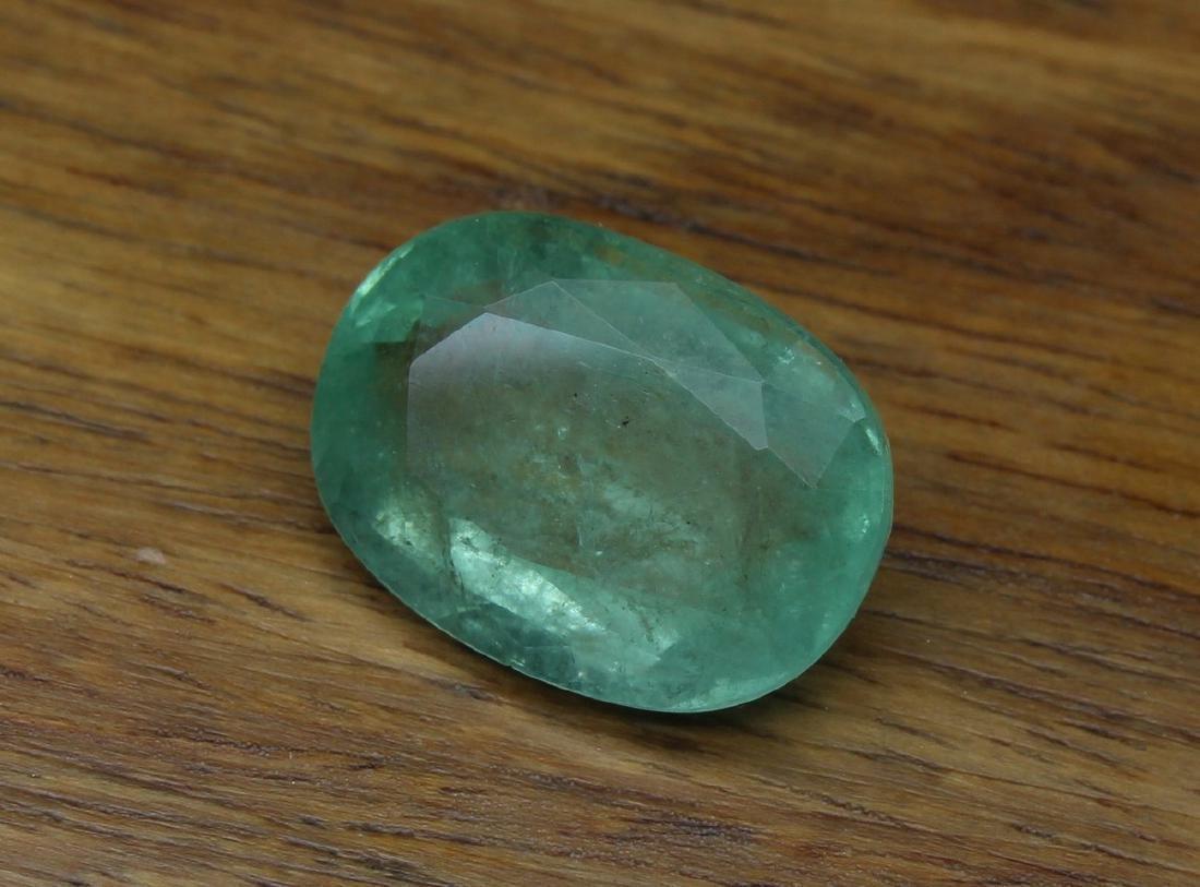 9.06 Carat Loose Oval Emerald