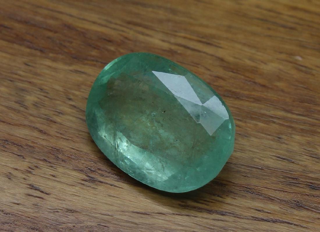 9.06 Carat Loose Oval Emerald - 5