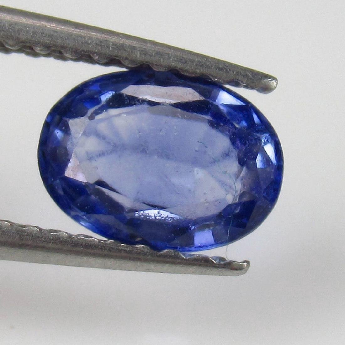 0.93 Carat Natural Loose Blue Sapphire Oval
