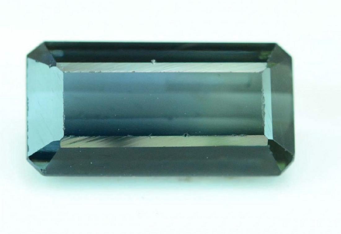 4.15 Carat indecolite tourmaline loose gemstone