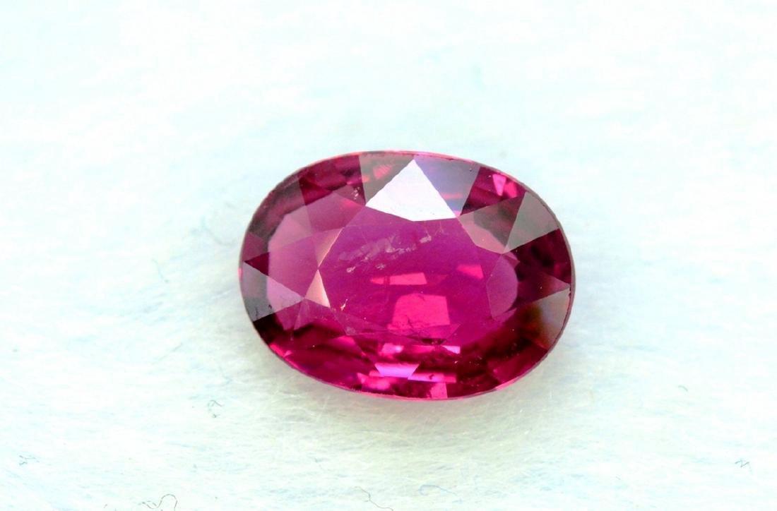 1.60 Carat Natural Rubelite Loose Gemstone