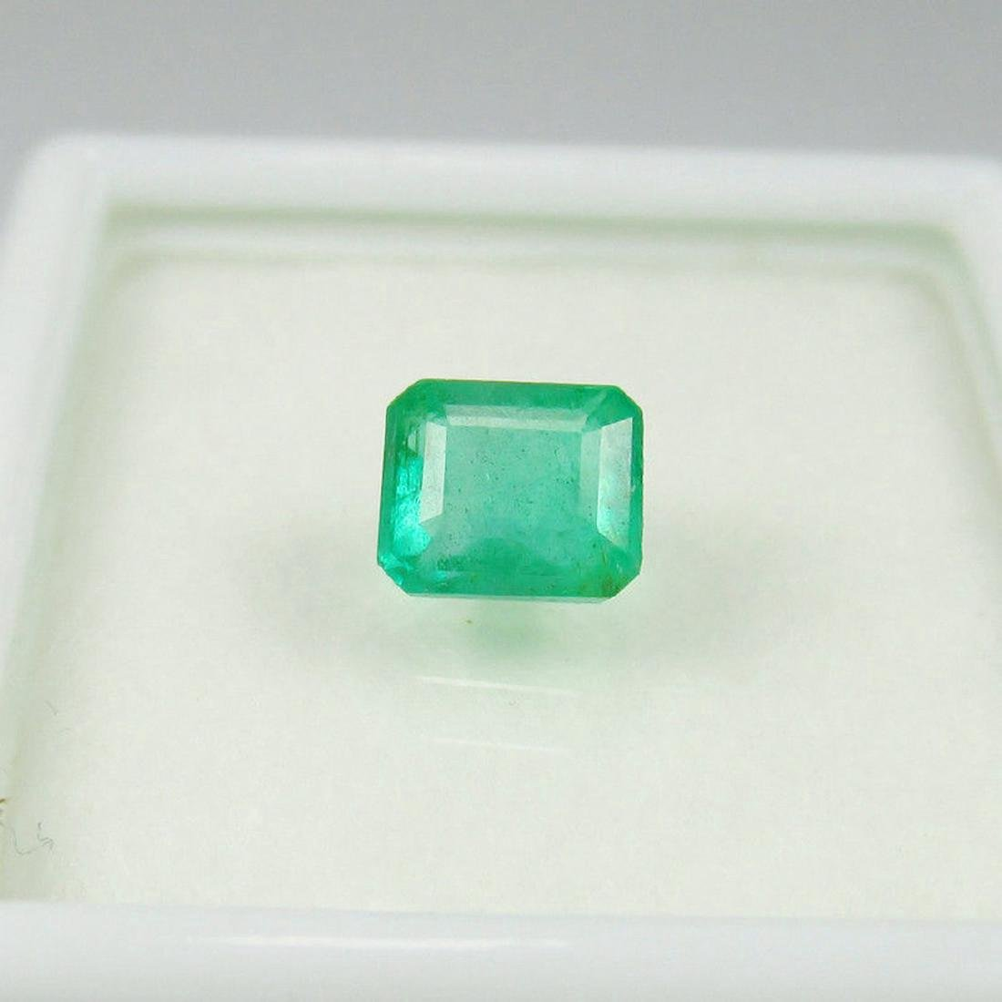 0.83 Carat Loose Zambian Emerald Octagon
