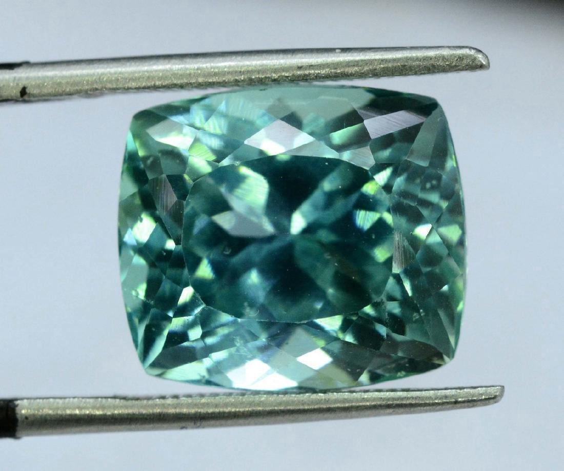 10.95 Carat Flawless Green Kunzite Loose Gemstone - 10