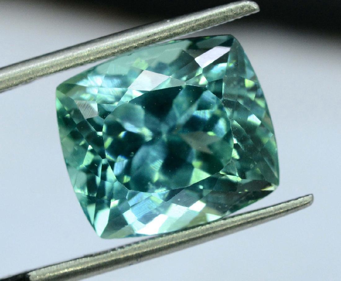 10.95 Carat Flawless Green Kunzite Loose Gemstone - 9