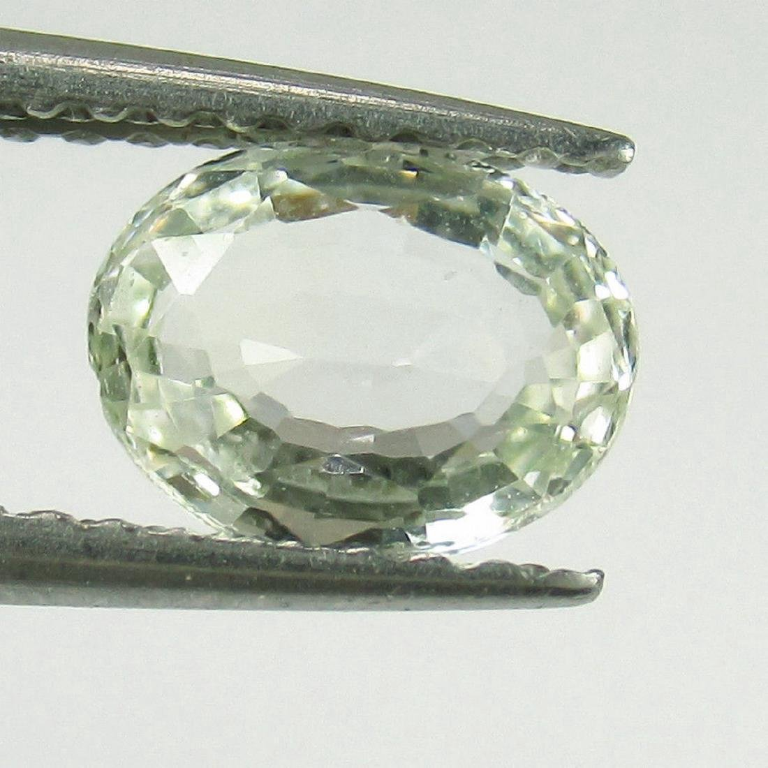 1.00 Carat Natural Loose Green Sapphire Oval