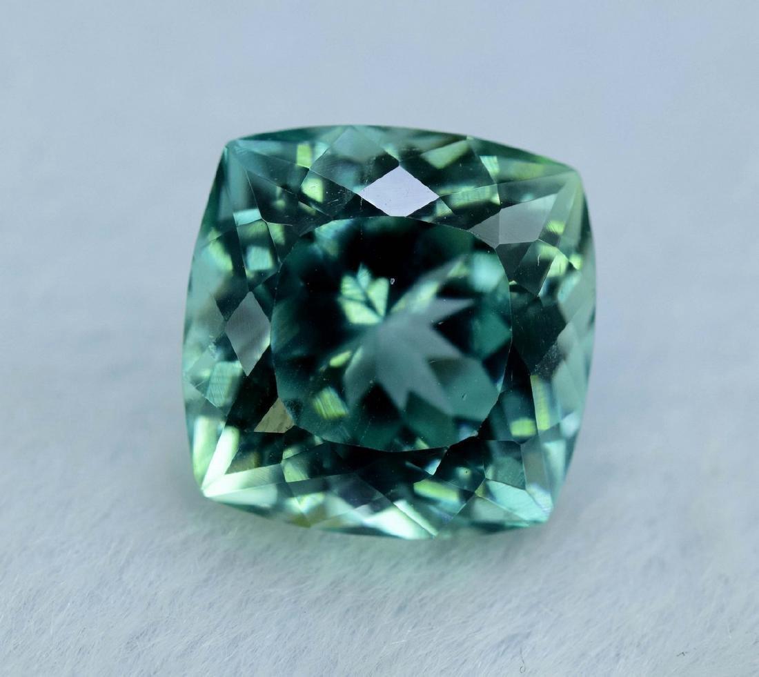 12.55 Carat Flawless Green Kunzite Loose Gemstone