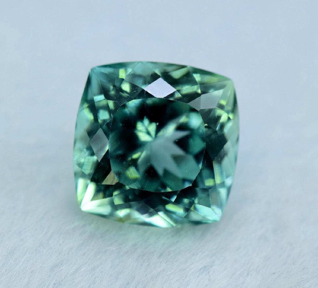 12.55 Carat Flawless Green Kunzite Loose Gemstone - 6