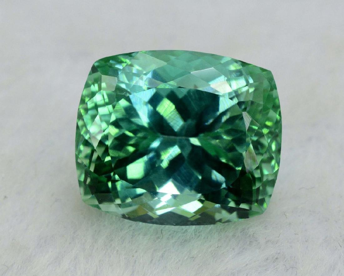 18.40 Carat Flawless Green Kunzite Loose Gemstone - 4