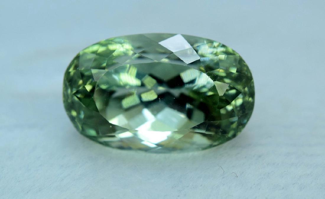27.90 Carat Flawless Green Kunzite Loose Gemstone