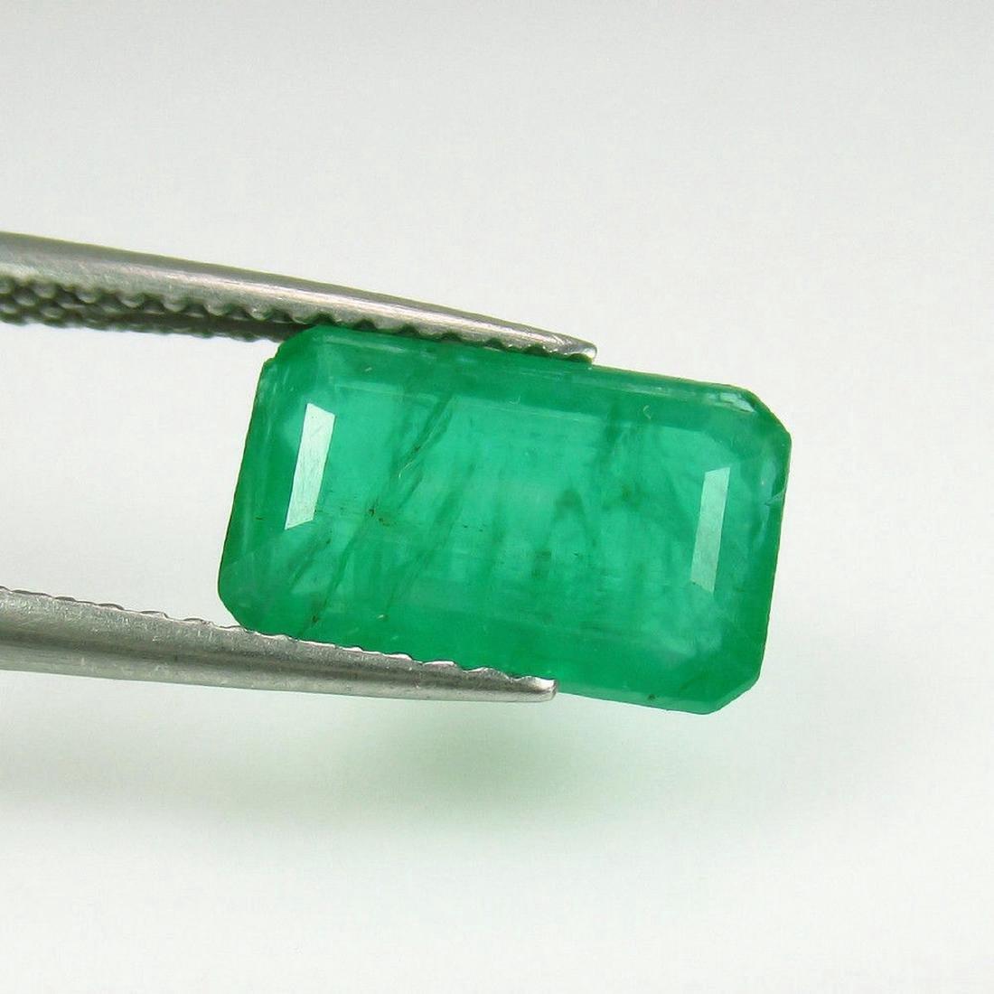 2.43 Carat Loose Zambian Emerald Octagon Stone
