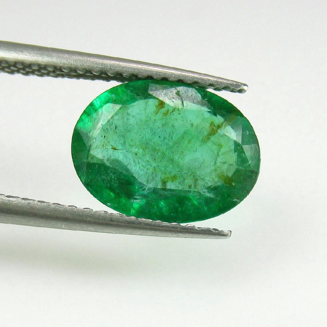 2.24 Carat Loose Zambian Emerald Oval