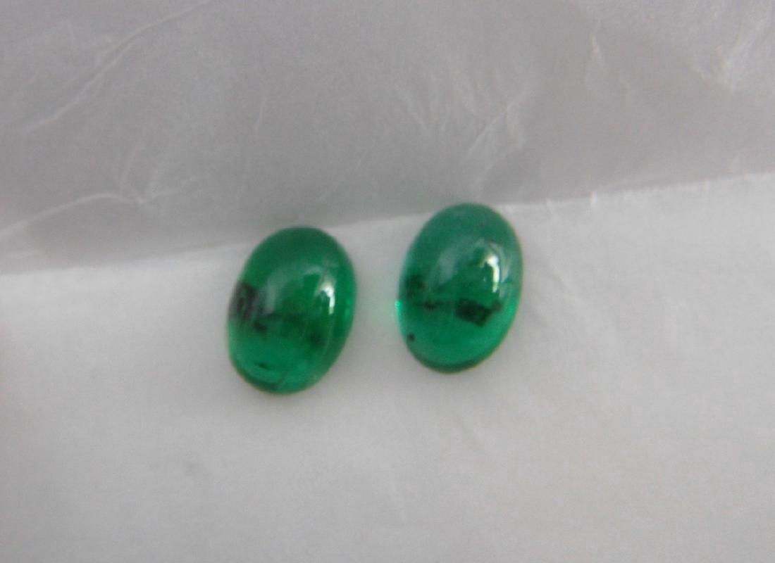 Emerald Pair - 1.55 Carat Loose - 5