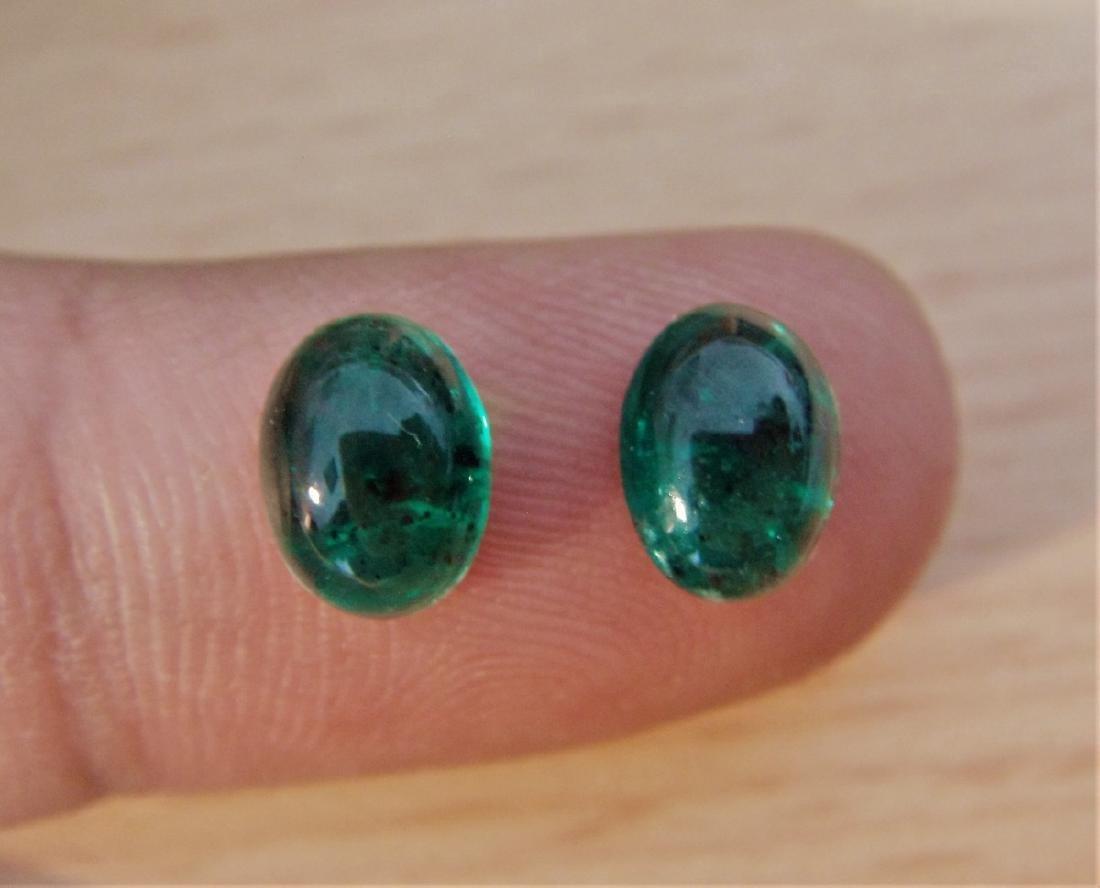 Emerald Pair - 2.70 Carat Loose
