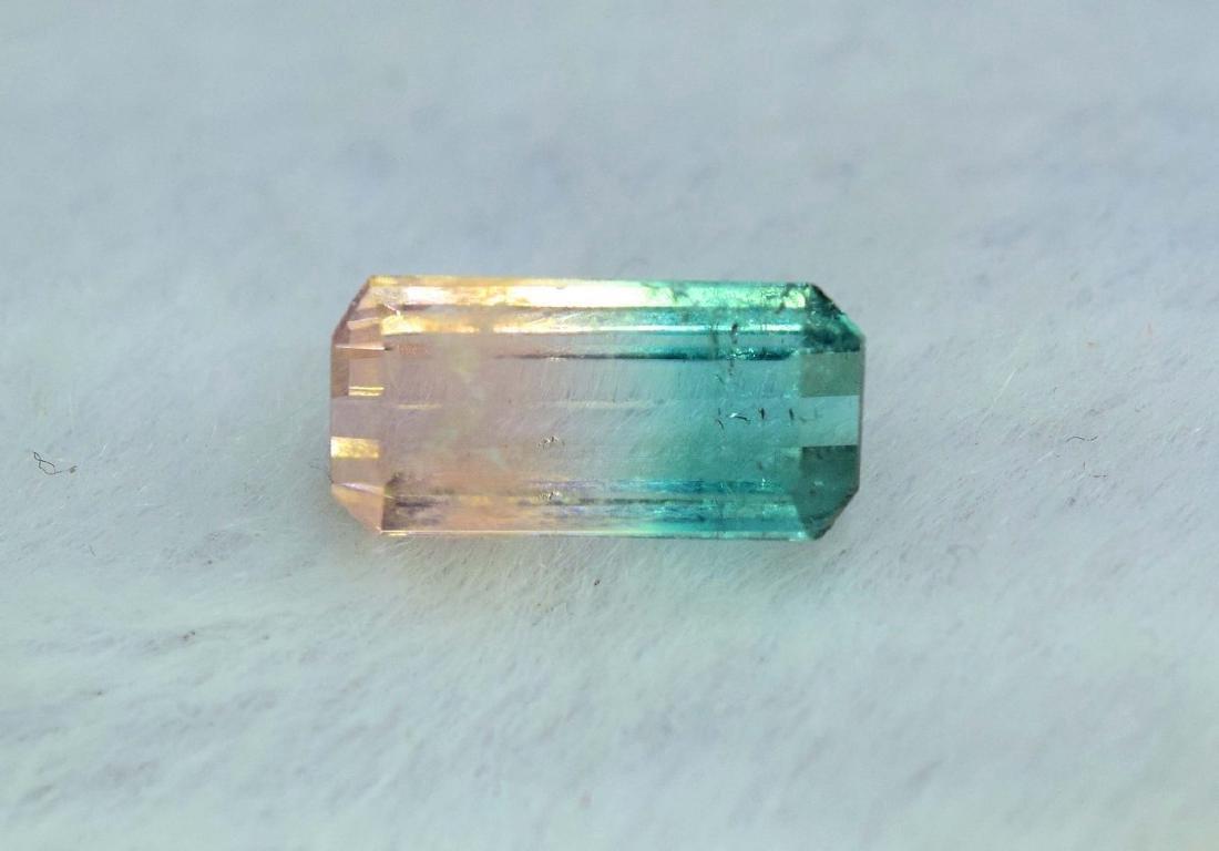 1.85 Carat Natural Bi Color Tourmaline Loose gemstone