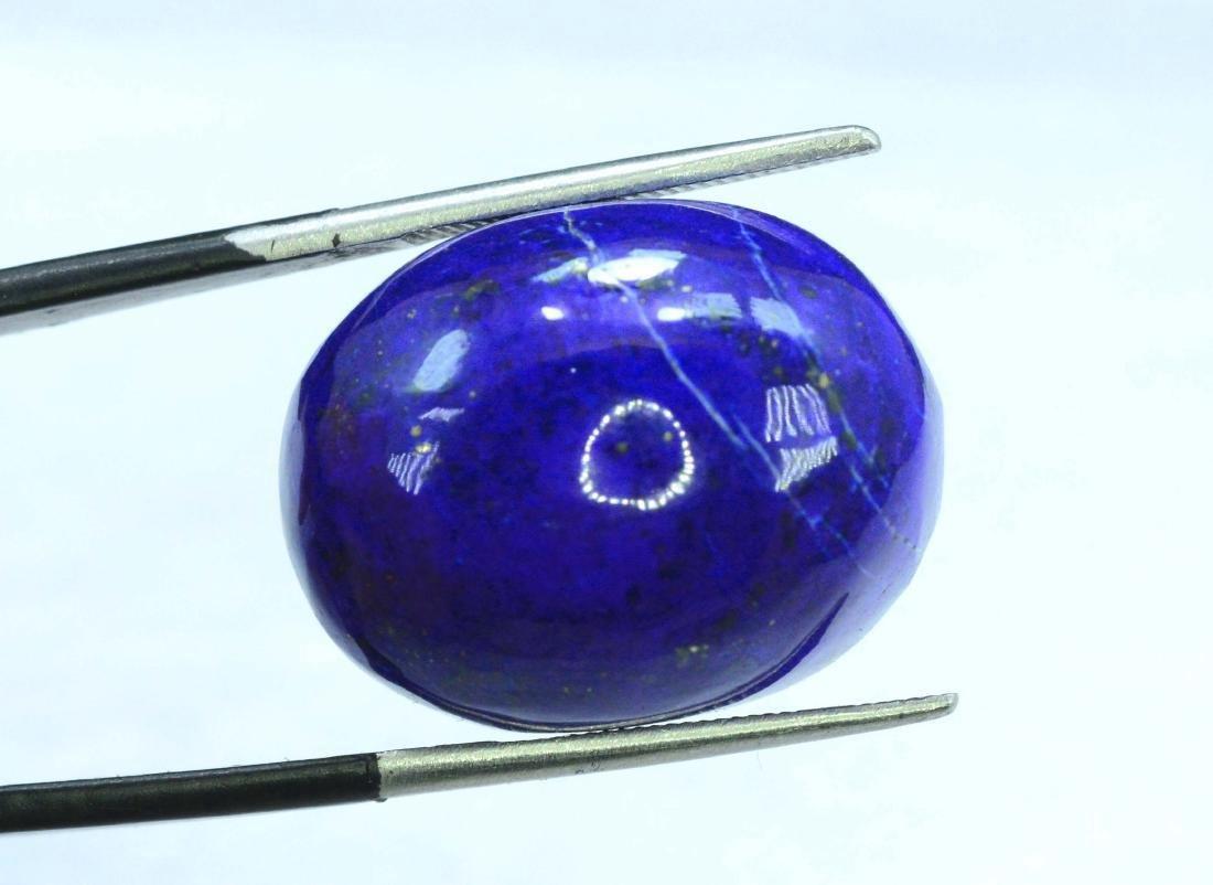 31.05 Carat Loose Lapis Lazuli Cabochon - 2