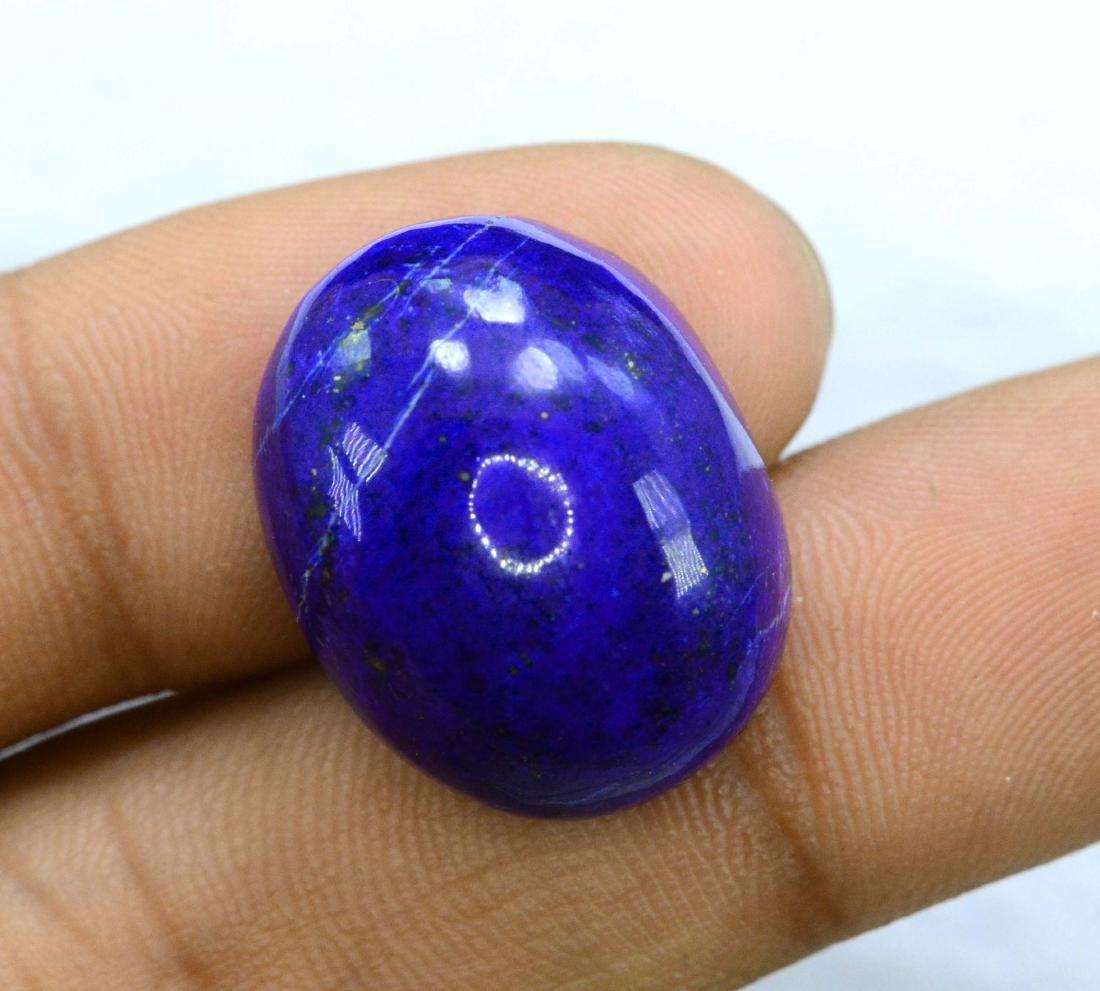 31.05 Carat Loose Lapis Lazuli Cabochon - 4