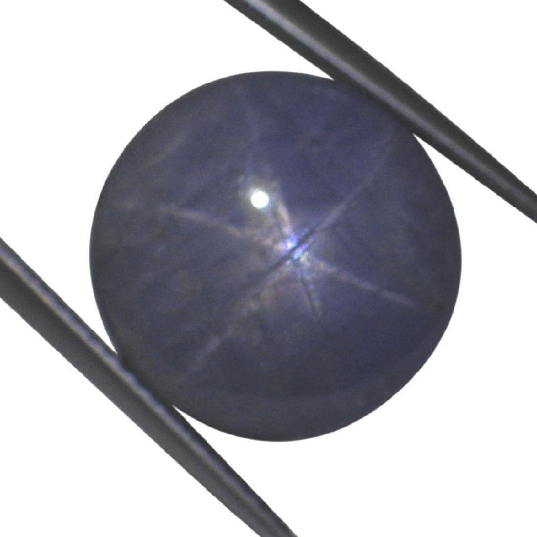 7.46 Carat Loose Round Star Sapphire - 5