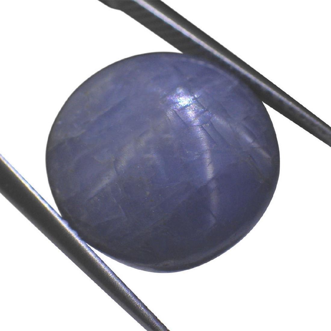 7.46 Carat Loose Round Star Sapphire - 6