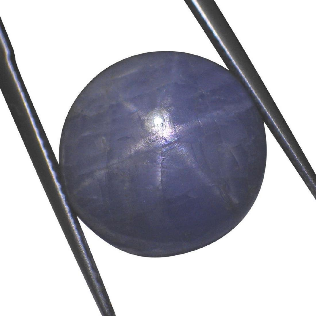 7.46 Carat Loose Round Star Sapphire - 7