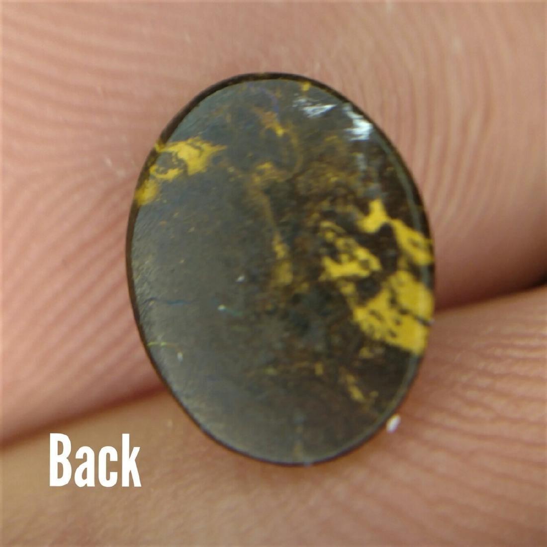 2.34 Carat Loose Australian Boulder Opal - 3