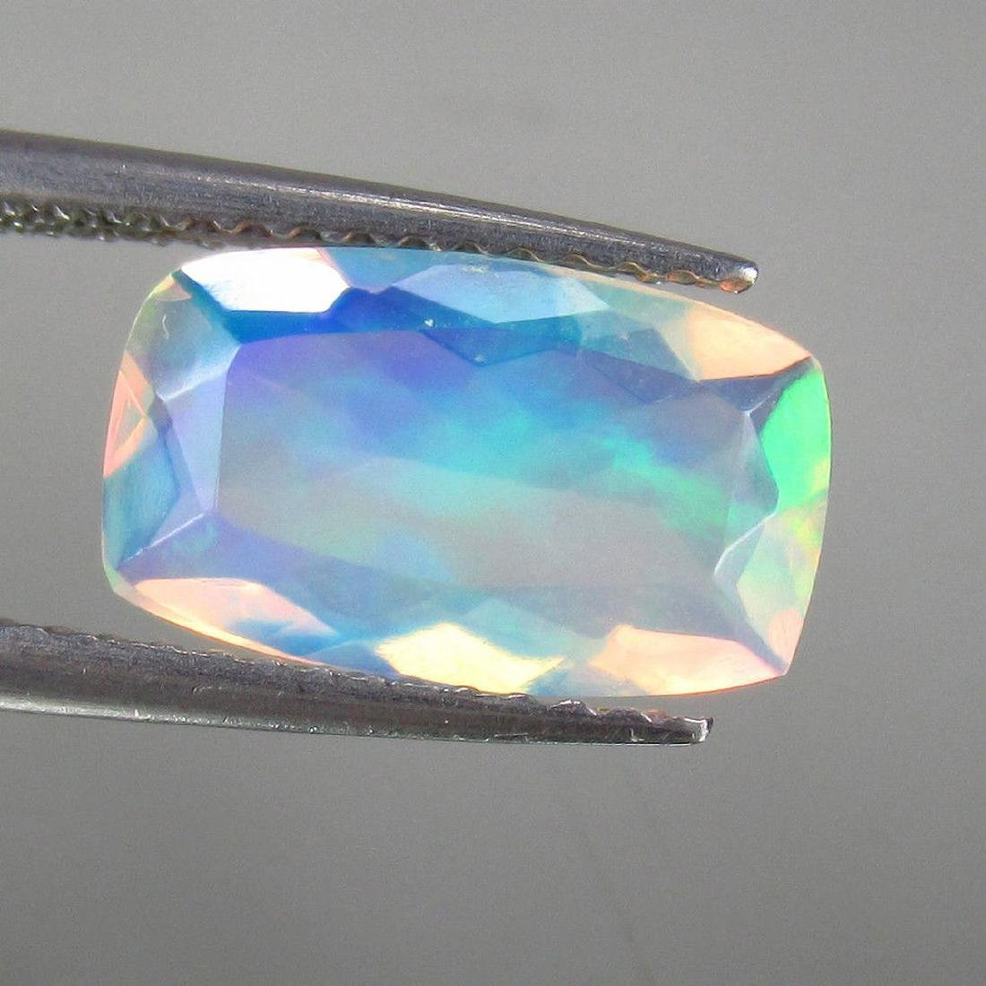 1.52 Carat Natural Loose Ethiopian Faceted Welo Opal