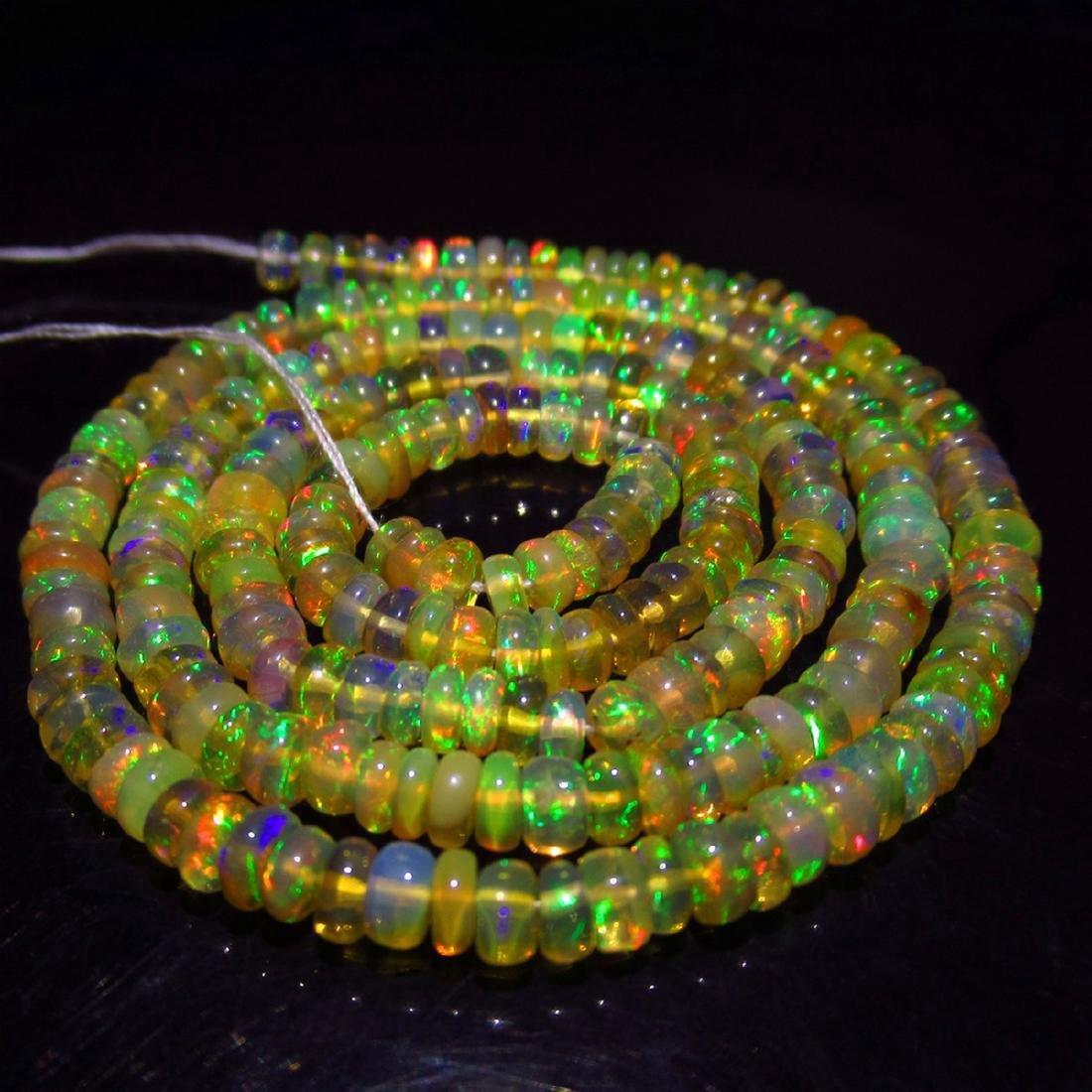33.00 Carat Natural 230 Loose Opal Beads Necklace