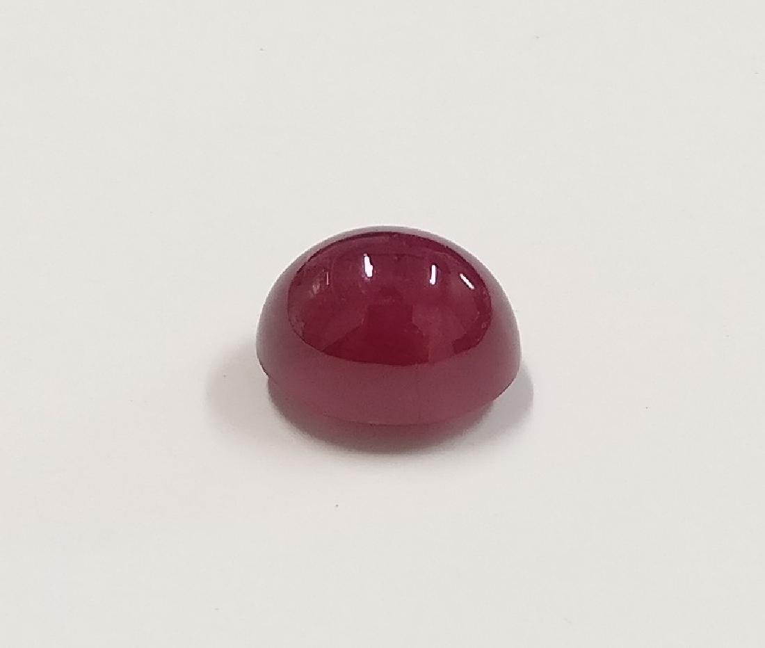 Ruby Deep  Red 4.18 ct Fine color Origin Burma