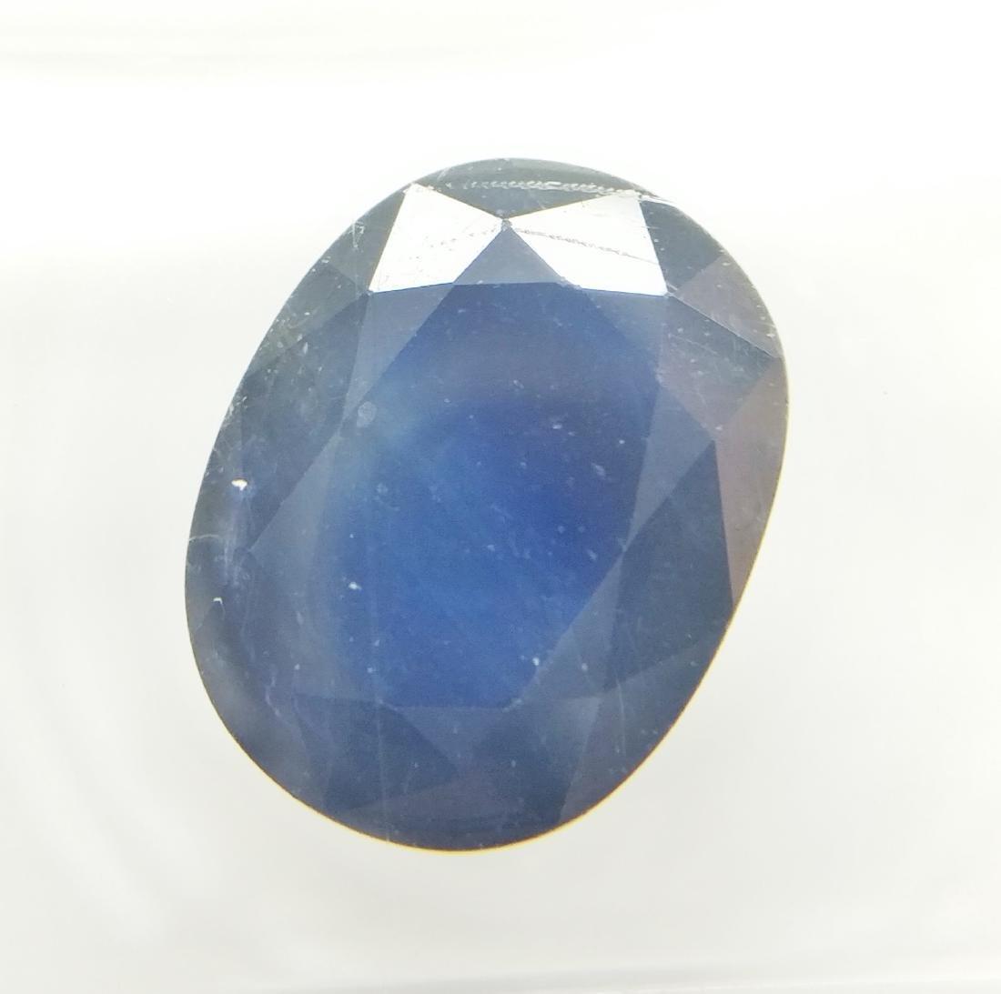 Sapphire Deep Blue 3.89 ct