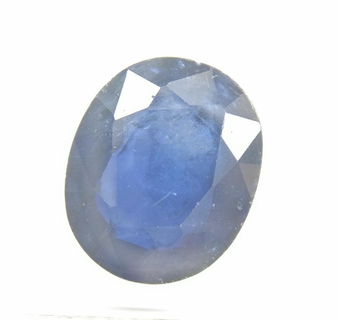 Sapphire Dark Blue 3.94 ct