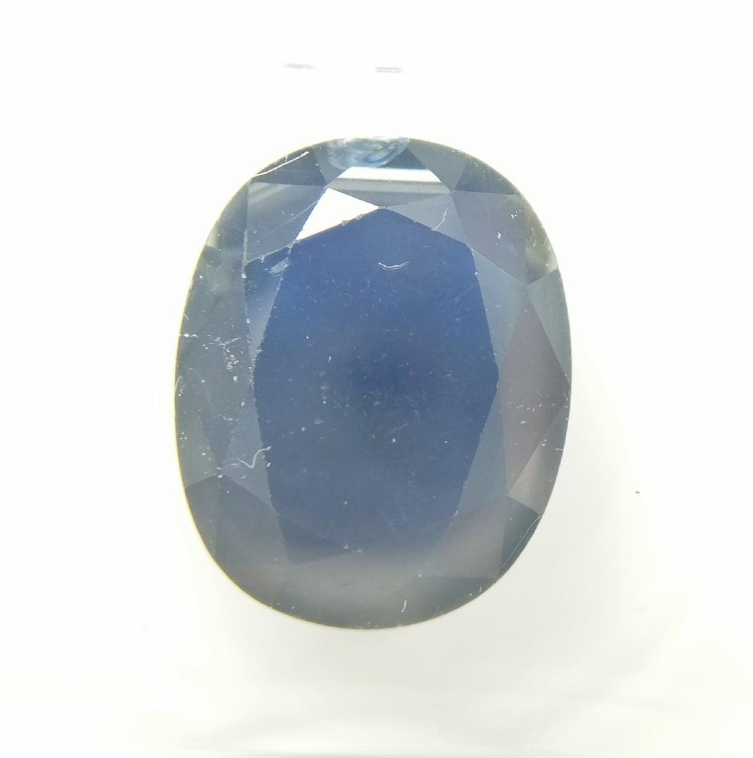 Sapphire Deep Blue 5.61 ct