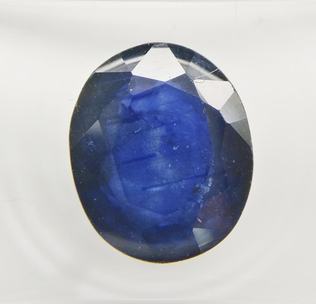 Sapphire Dark Blue 4.37 ct