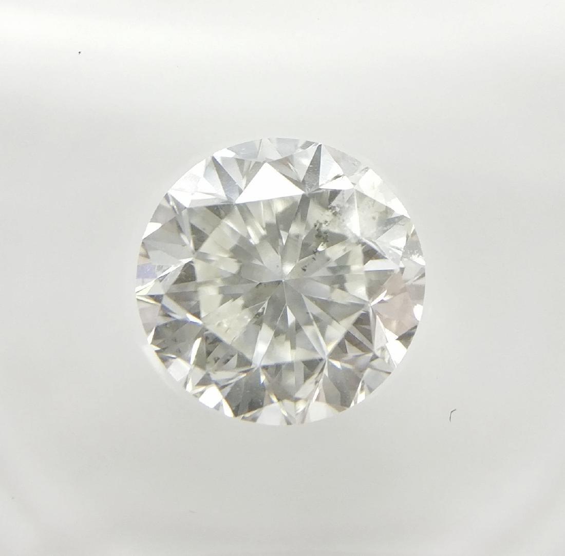 1.18 ct Round cut diamond F SI2