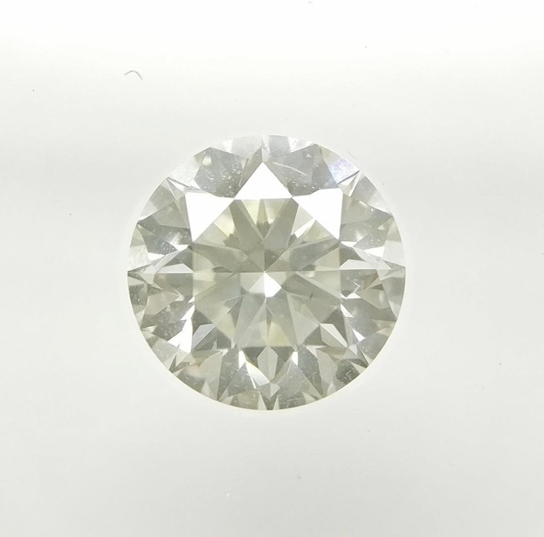 0.54 ct Round cut diamond I VS1