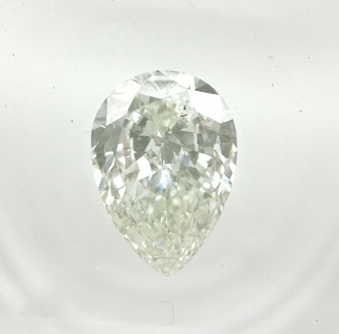 0.96 ct Pear cut diamond G VS2