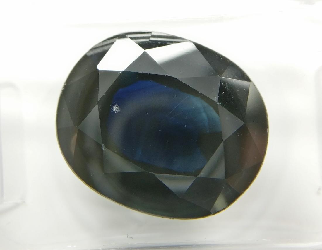 Sapphire Dark Blue 9.85 ct